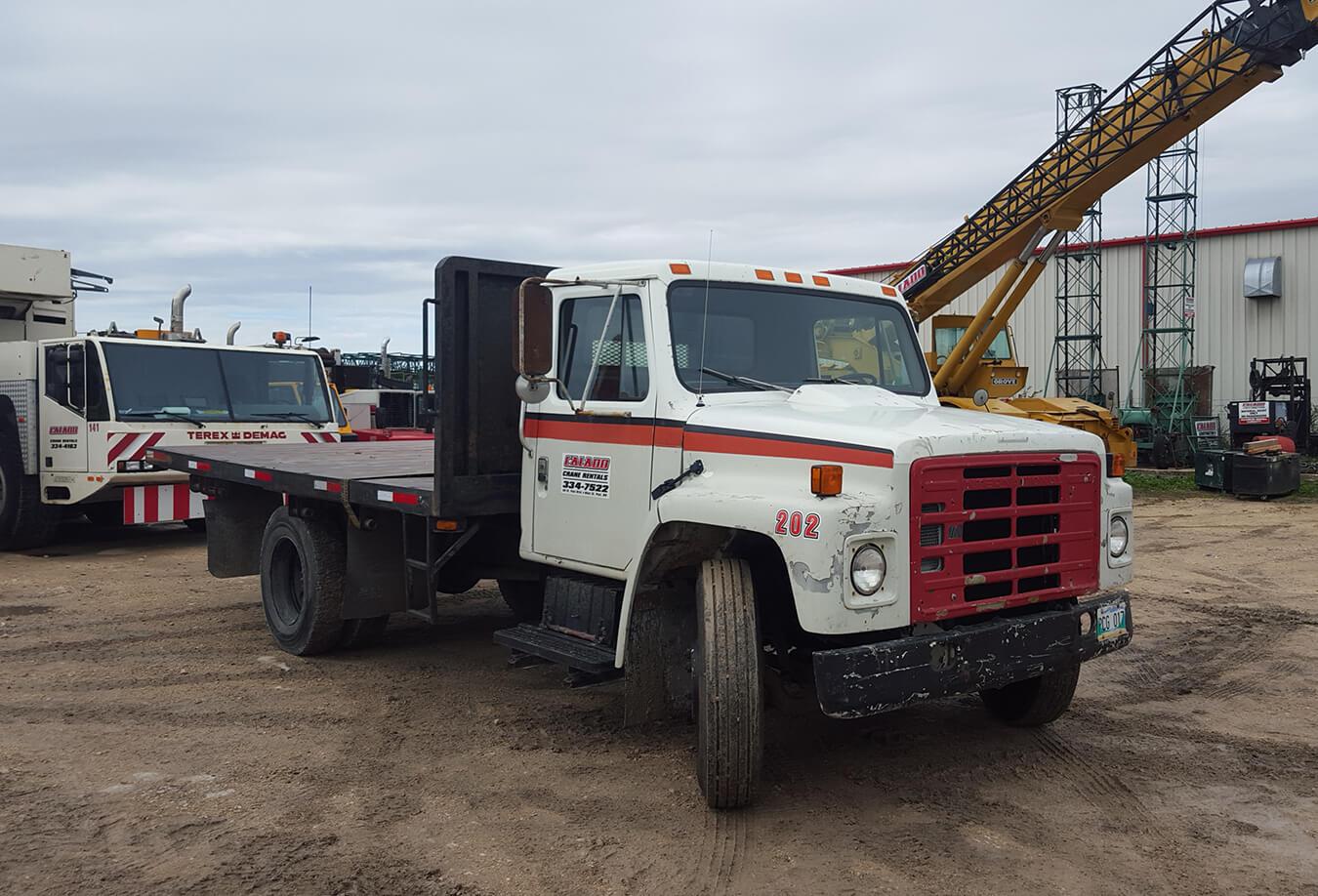 International - Flat Deck Truck - Front